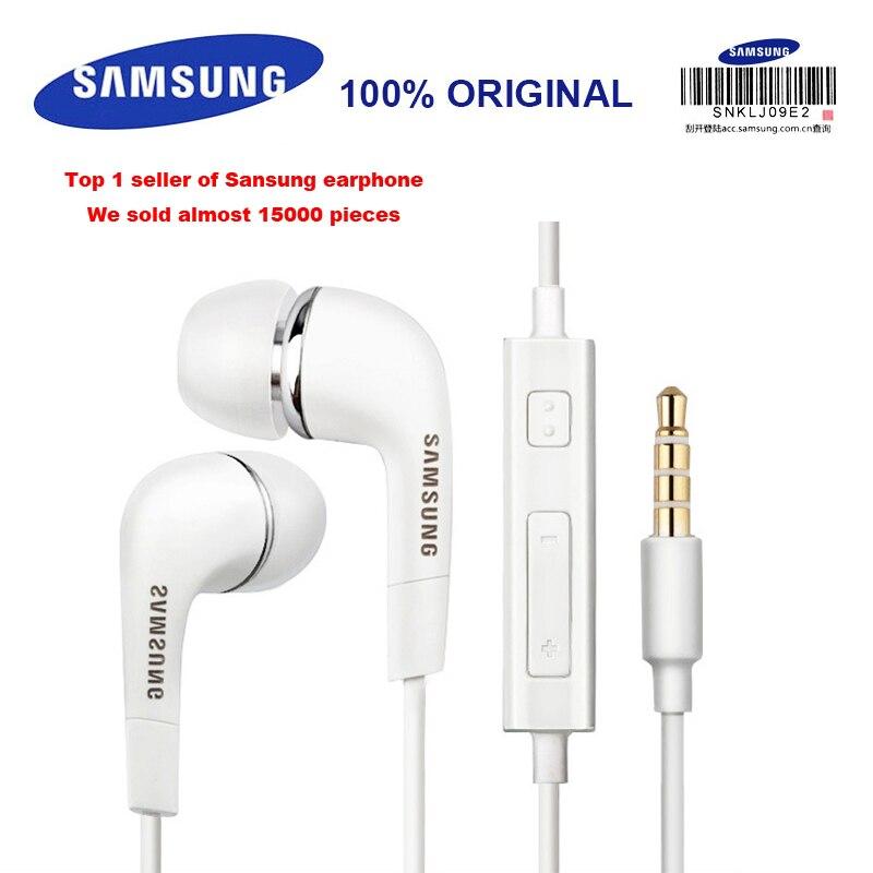 Auricular con cable de 3,5mm para SAMSUNG EHS64 con micrófono para Xiaomi Galaxy S8 S9 S9 Plus compatible con verificación oficial