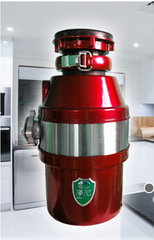 معالج نفايات الطعام المنزلي ، كسارة التخلص من نفايات المطبخ ، مطحنة من الفولاذ المقاوم للصدأ 450 وات ، كسارة نفايات الطعام HA203