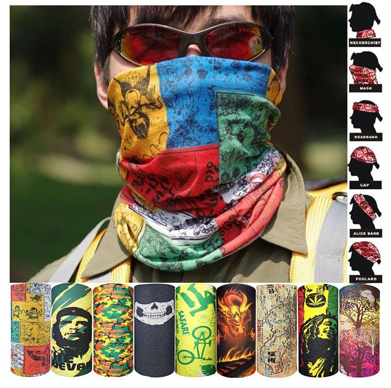 Мужской шарф, кольцо, шарф, бандана, шейный платок, повязка-труба, унисекс, мотоциклетный, с черепом