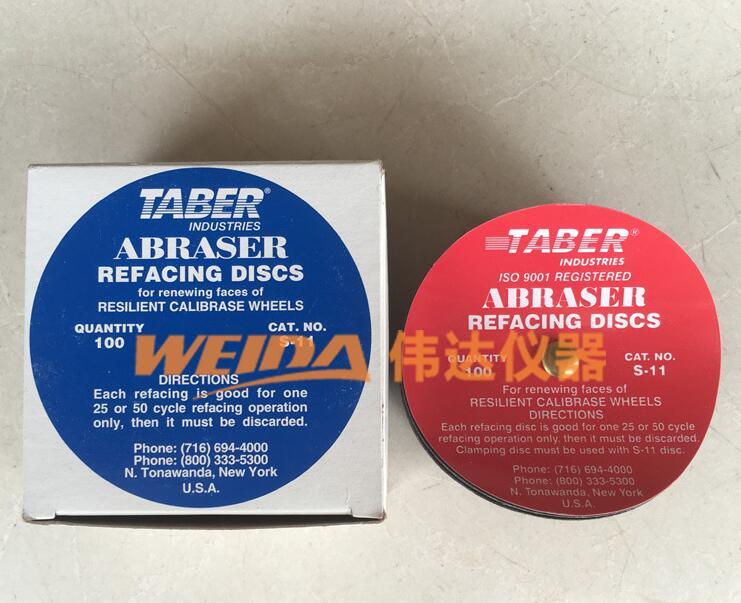 Os Estados Unidos TABER ABRASER lixa resistente matte papel pré S-11 fosco lixa de papel de corte