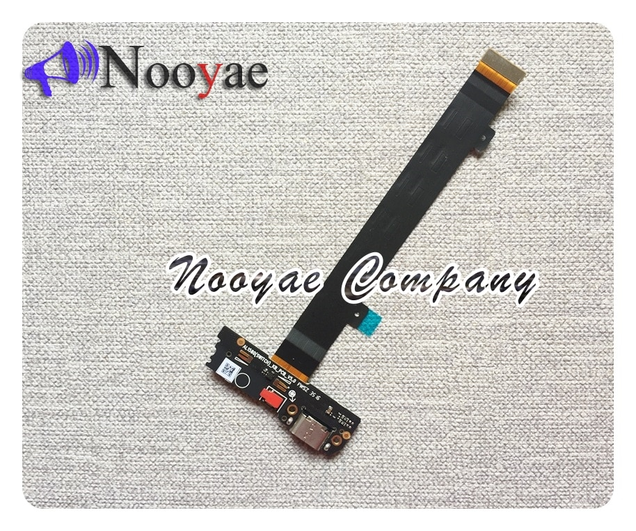 Para Letv Le 2 Pro LeEco Le2 Pro x620 X621 X626 USB Dock cargador puerto de carga cable flexible de micrófono placa 5 unids/lote