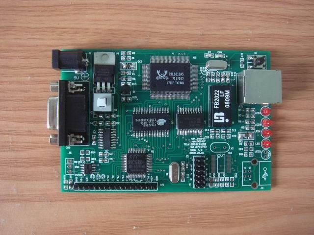 para a Pilha do Protocolo de Uip Série à Rede Placa de Desenvolvimento de Rede Http Web Rtl8019