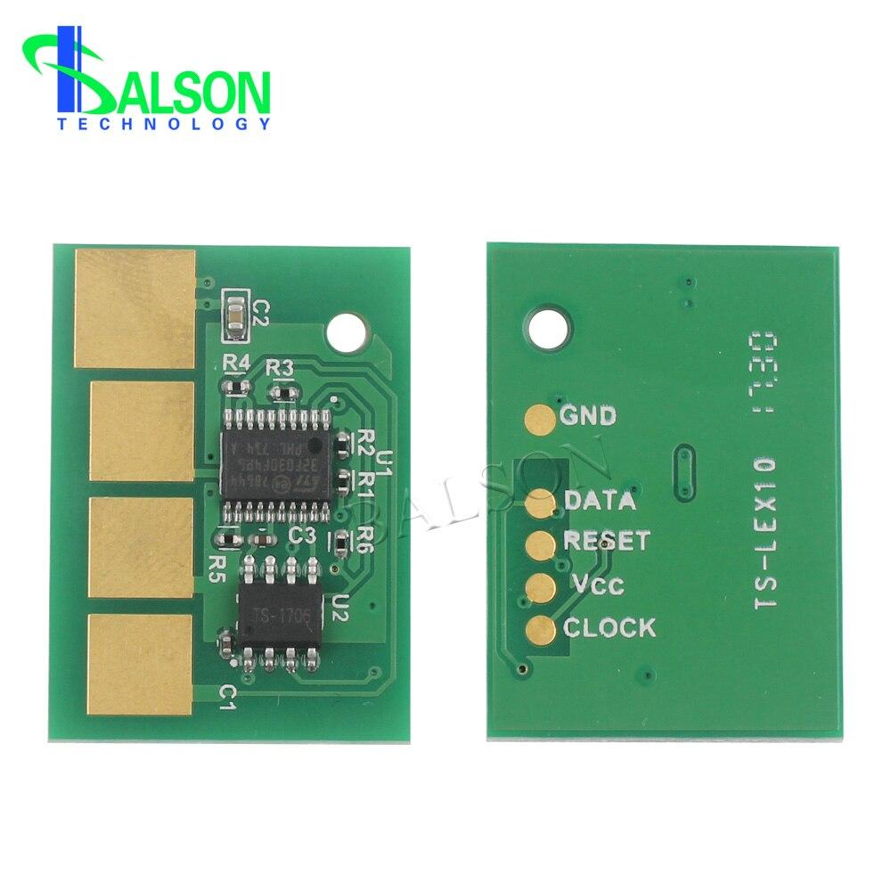 9K toner chip para lexmark E360d E360dn E460dn E460dw E462dtn impresora chips