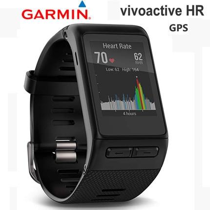 Get original GPS GOLF watch garmin vivoactive HR sport Heart Rate monitor Tracker bluetooth golf running swimming smart watch men