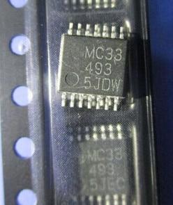 Free Shipping  2PCS/LOT MC33493DTB MC33493 TSSOP14
