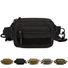 Поясная сумка высокого качества в стиле милитари, поясная сумка-мессенджер через плечо из нейлона 1000D