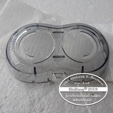 Rasierer rasierer kunststoff abdeckung Transparente abdeckung RQ310 RQ311 RQ312 RQ330 RQ350 RQ360 RQ371 S510 S720 S728 S738 für Philips