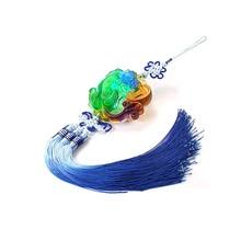 Chinese Mooie Liuli Pi Yao/Pi Xiu Opknoping Feng Shui/Pi Yao Opknoping/Amulet Decoratie Opknoping/liu Li Dier Opknoping