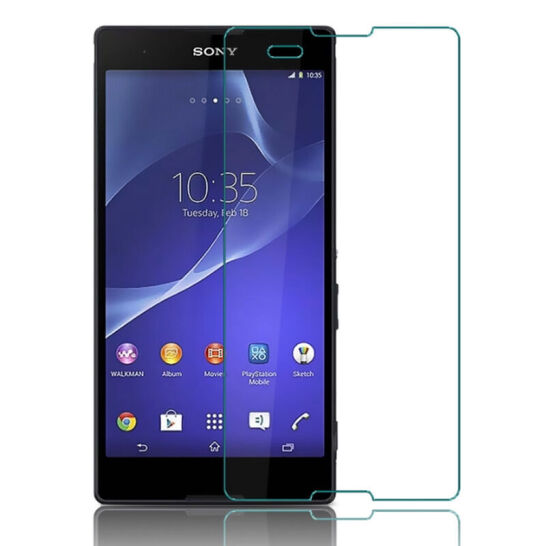 For Sony Xperia T2 T2 Ultra XM50h D5303 Dual SIM D5322 Screen Protector Toughened Protective Film Te