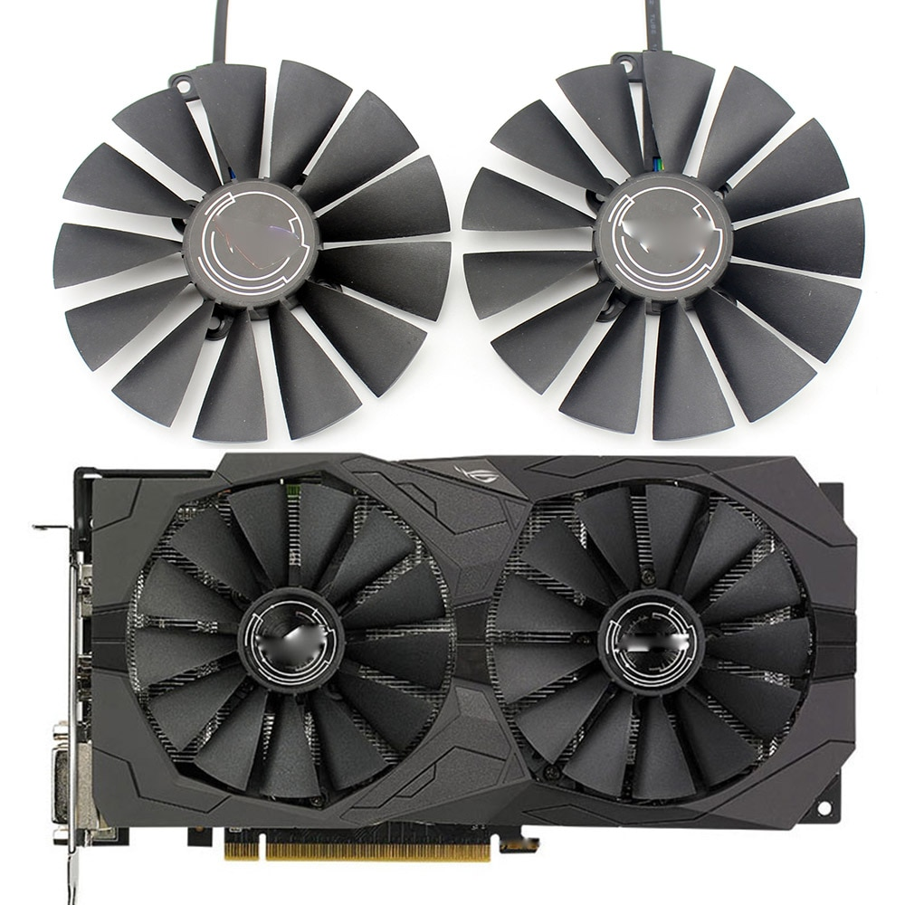 New 95MM PLD10010S12H Cooler Fan For ASUS ROG STRIX Dual  RX 470 570 For AMD RX470 RX570 Gaming Video Card Cooling Fan