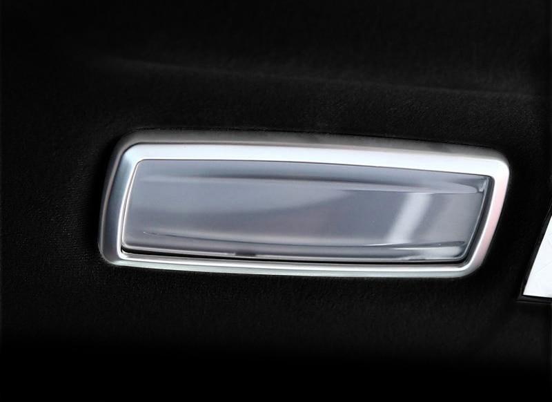 2pcs for Maserati Levante Reading lamp Sequins Decorative frame sticker enlarge