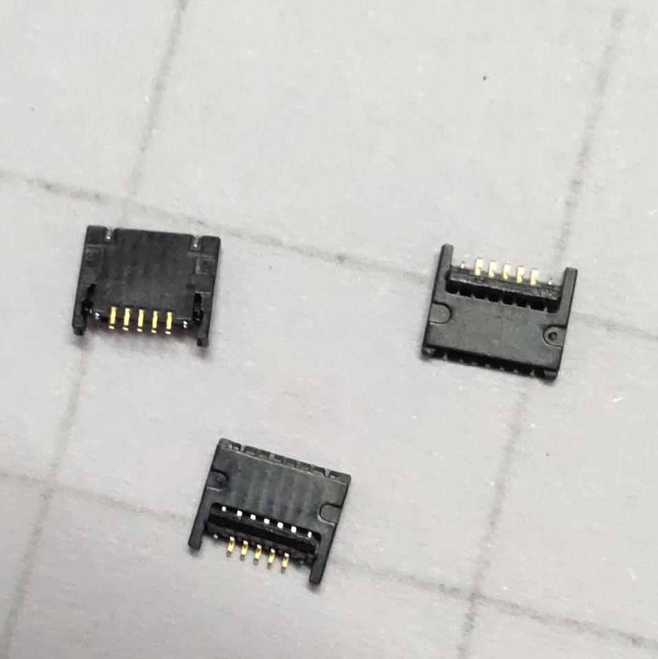 """10 unids/lote conector de ventilador para MacBook Pro 15 """"A1707 5 pin clip conector ajuste de la placa base parte"""