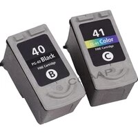 2 compatible ink cartridge for canon pg 40 41 pg 40 cl 41 pixma ip2500 ip2600 ip1800 ip1900 mp190 printer
