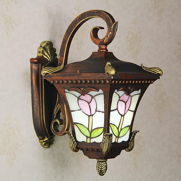 Luces de pared para balcón, patio de estilo europeo, lámpara para exteriores, lámpara para patio, puerta de pabellón, lámparas para exteriores resistentes al agua y a la corrosión