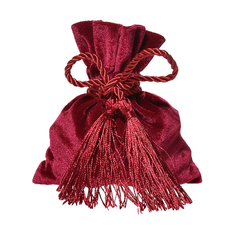 12x14CM Velvet Candy Bags Wedding Drawstring Gifts Bag Wedding Party Favors Packaging Jewelry Pouches