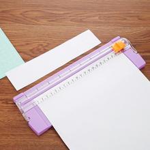Mini A5 coupe-papiers de précision Portable   235mm pour album à faire-même papiers en plastique coupe-Photo, outils de tapis de découpe