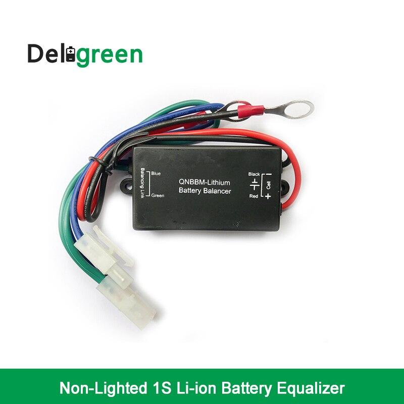 20 pcs QNBBM 1S Single Cell Lithium Battery Equalizer Balancer  BMS  LIFEPO4 /Polymer Li-ion LTO 18650 DIY Battery  Pack