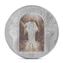 1 Pcs Jesus Christus Religion Gedenkmünze Sammlung Geschenk Souvenir Kunst Metall Antiqu