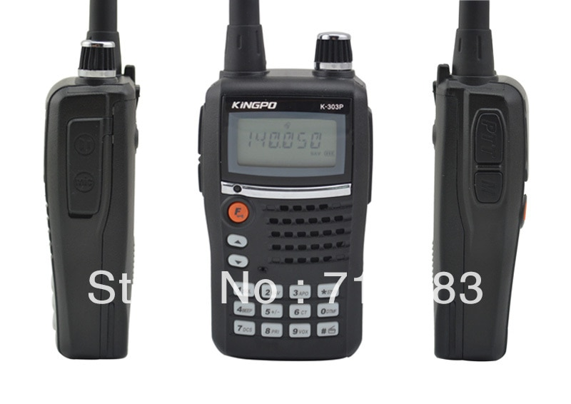 kingpo k 303p vhf 136 174 mhz 5 w 99ch cb ham two way radio fm portatil transceptor