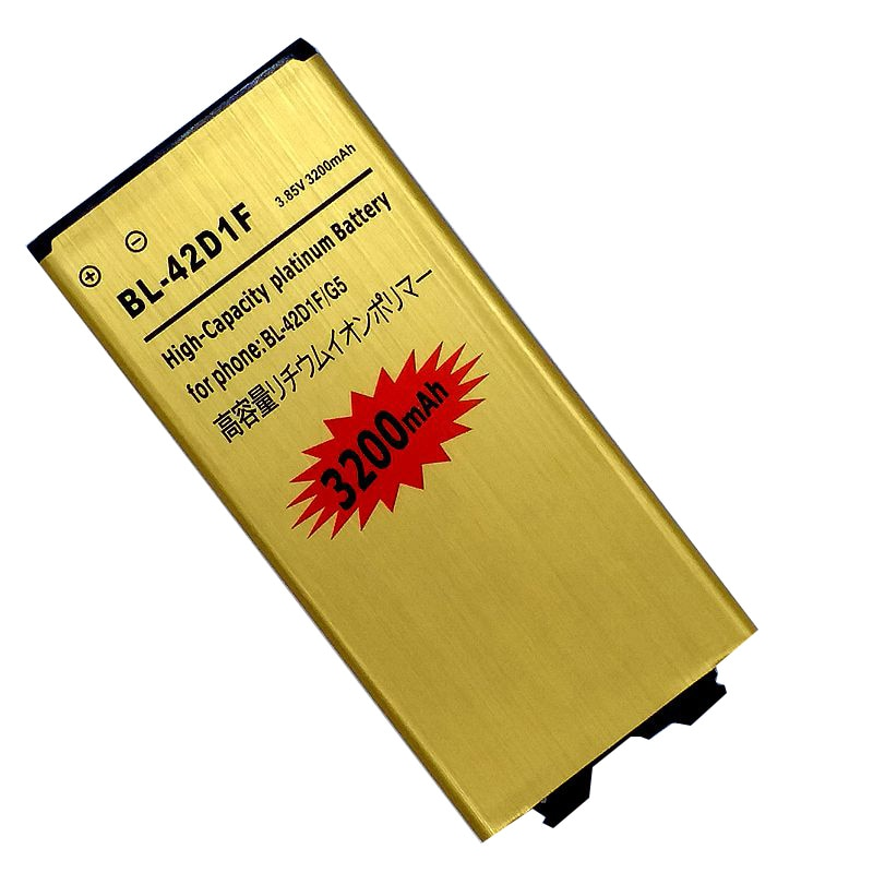 BL-42D1F Replacment Battery for LG G5 VS987 US992 H820 H850 H868 H860 H860N F700K H830 LS992 Internal Batteries Accumulator