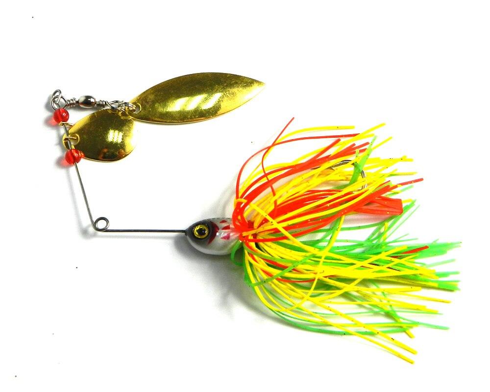 200 Uds 20,5G Spinner cuchara cabeza de plomo metal Señuelos de Pesca 0,72 oz calamar jigs pike cebos de pesca para lubina buzzbaits aparejos de pesca