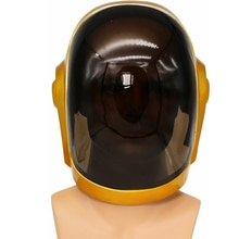 Band Daft Punk Guy-Manuel Hars PVC Helm Vakantie Cosplay Kostuum Props Festival Halloween Maskers Kerst Cosplay Party Helm