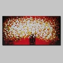 Arthyx hand gemalt Blumen ölgemälde moderne ölgemälde auf leinwand abstrakte malerei pop kunst billig moderne malerei Wand Kunst