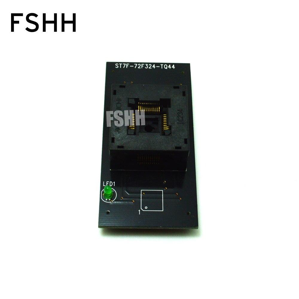 ST7F-72F324-TQ44 Programmer Adapte TQFP44 QFP44 Adapte test socket for LP Programmer enlarge