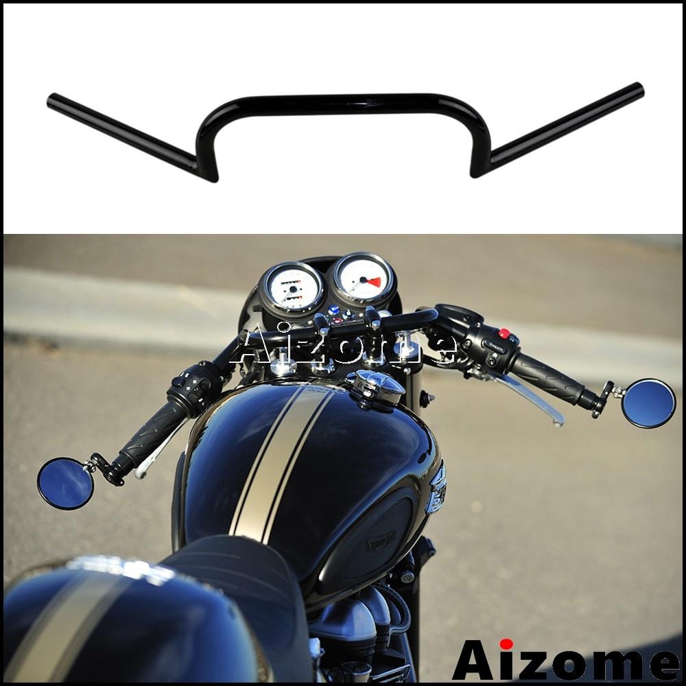 Akozon Negro Moto Scooter 7 822 Mm Manillar Manillar De Motocicleta Coche Y Moto Motos Accesorios Y Piezas