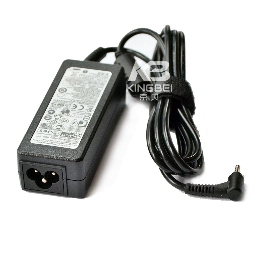 Excelente cargador de corriente alterna de 40W 19V para Samsung NP900X3F NP905S3G...