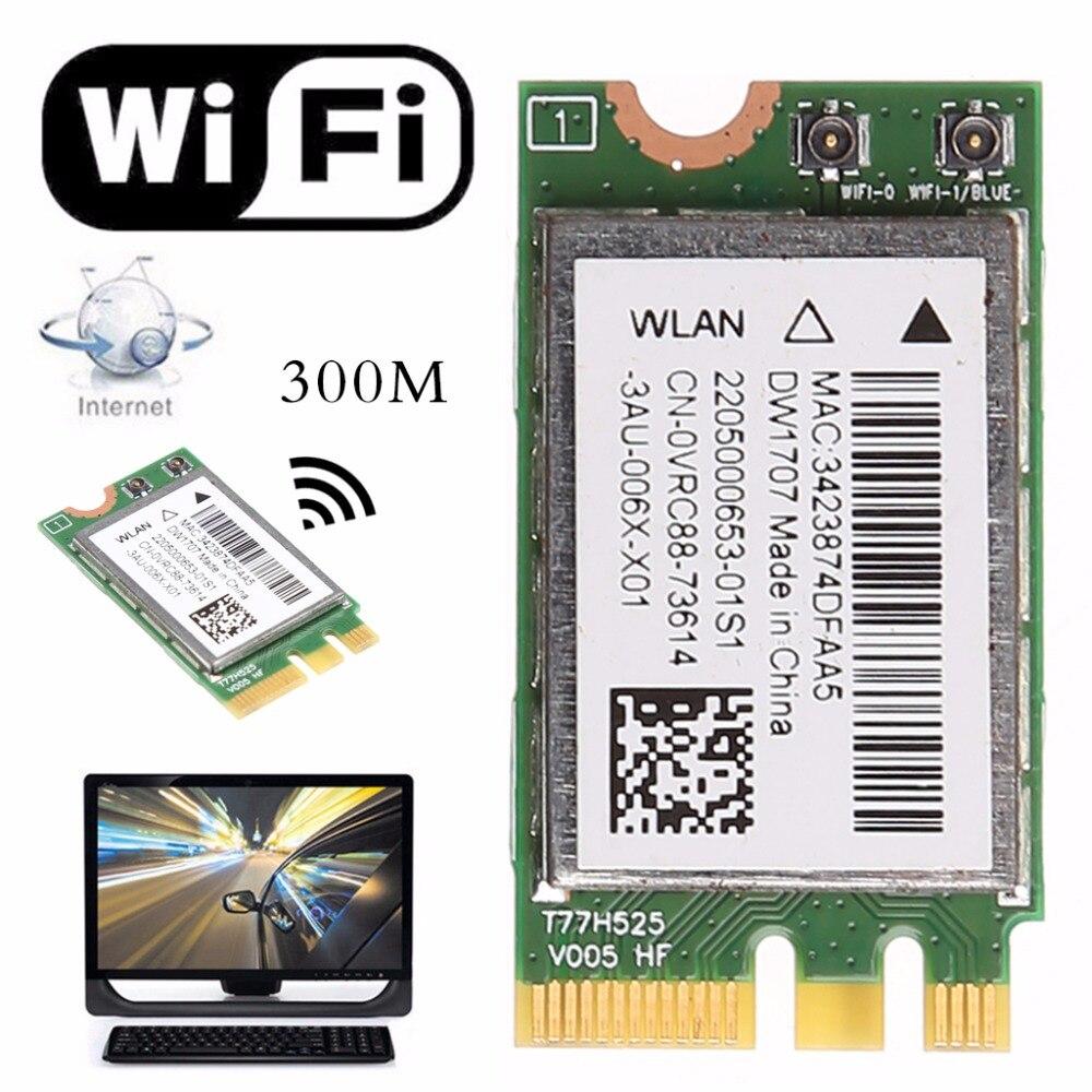300 m sem fio bluetooth v4.0 ngff wifi wlan cartão para dell dw1707 vrc88 qualcomm atheros qcnfa335