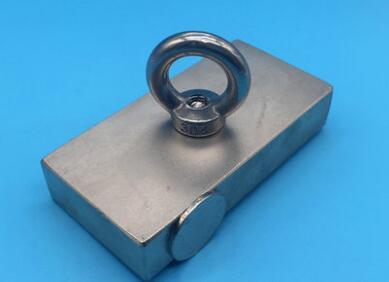 1 stücke N52 100*50*20 Super Leistungsstarke Starke Seltenen Erden block loch magnet RING Neodym-magneten 100x50x20mm 100X50X20 100*50*20mm