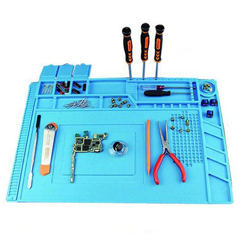 Silicone magnético isolamento térmico esteira de solda eletrônica computador reparação esteira tb venda