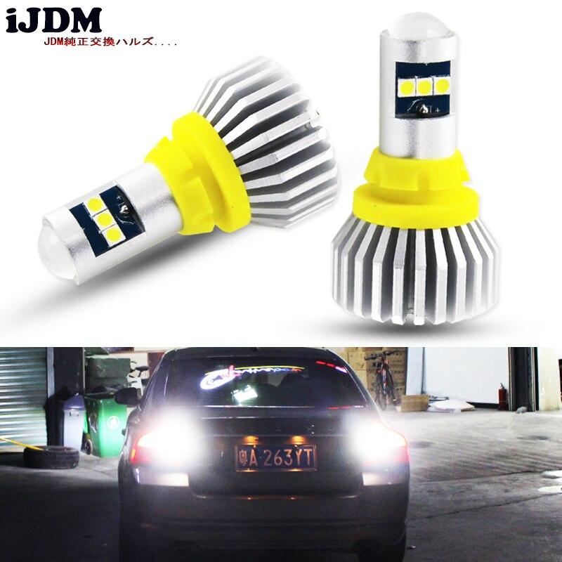 iJDM T15 LED Wedge Bulb W16W Led Lamp Light Canbus 921 912 2000LM Automobiles Backup Reverse Turn Signal Light Lamp 6000K 12V