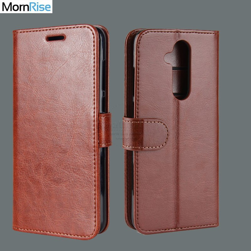 Premium Vintage Leather Book Flip Folio Cover For Nokia 7.1 Plus X7 Case Wallet KickStand Card Photo Handmade Mobile Phone Bags