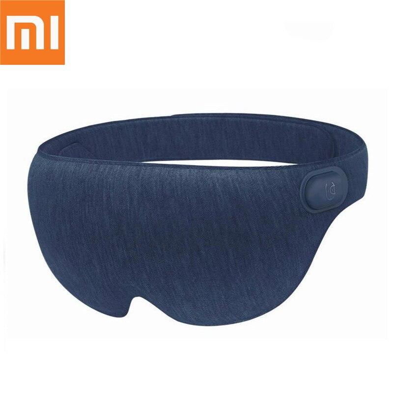 Original Xiaomi Mijia Ardor USB Vapor Quente Resto Máscara de Olho Remendo Avião de Viagem Ao Ar Livre Capa Blindfold Eyeshade 3D Estereoscópico