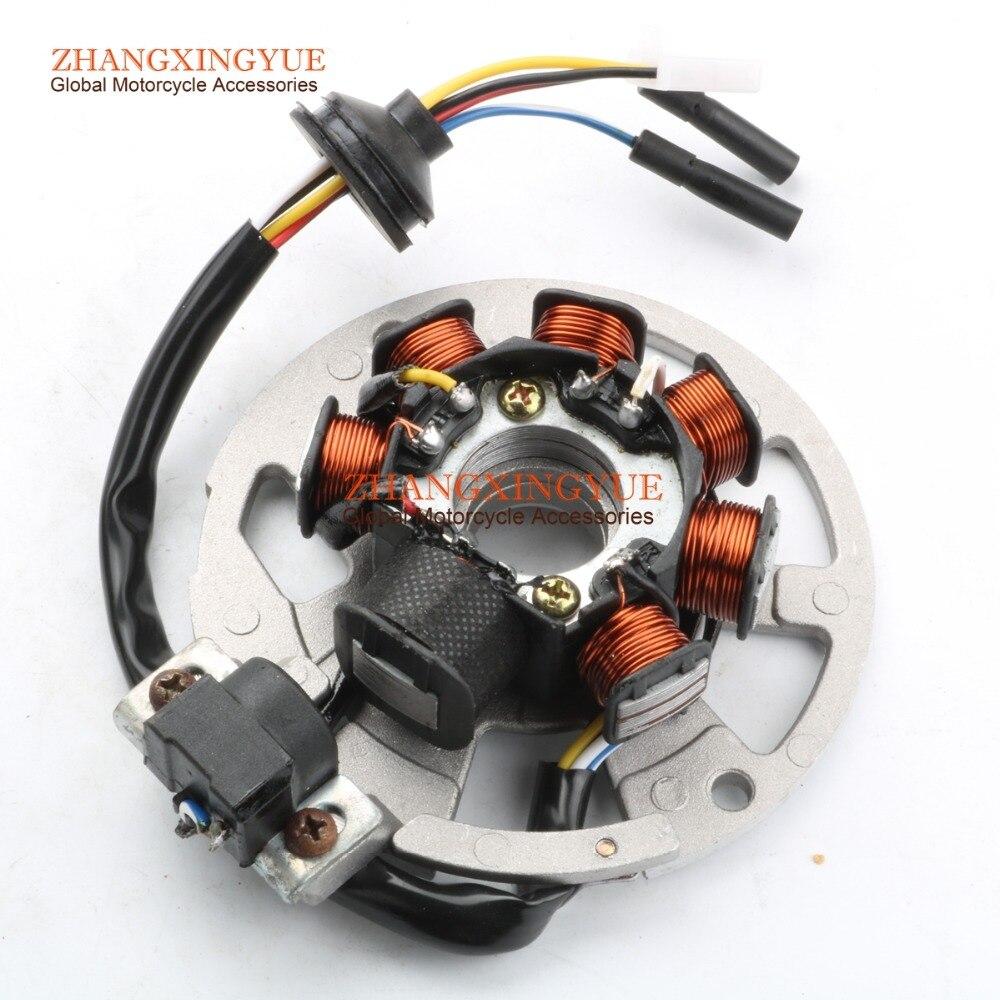 Генератор статора для YAMAHA JOG 50 JOG 90 JOG50 JOG90 YA50ZA 1E40QMB 3XG-H5560-00