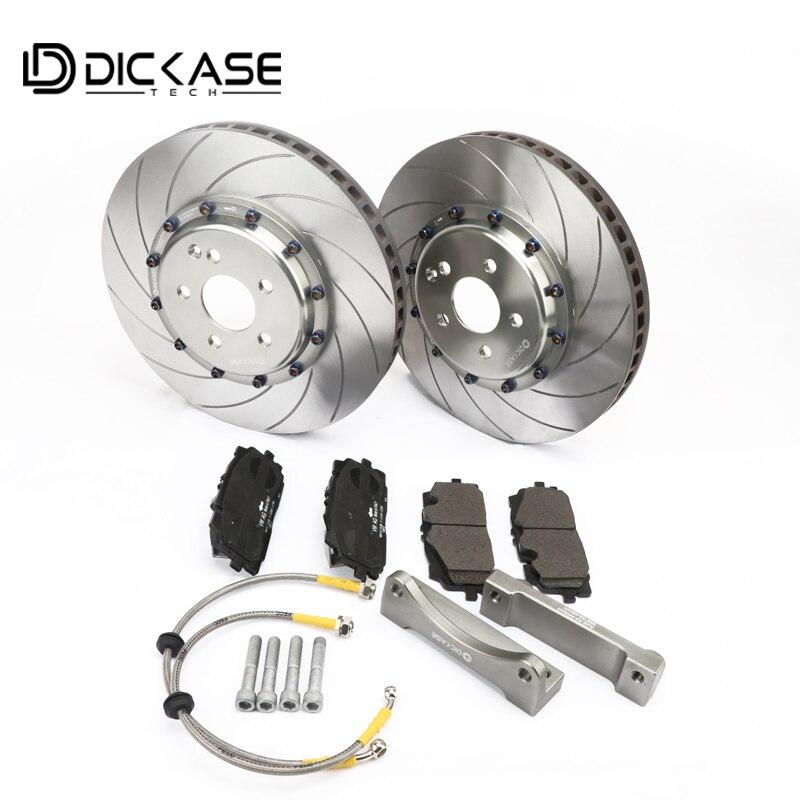 High-performance brake accessories for CP8520 six piston brake kit for Audi 19RIM  racing brake disc