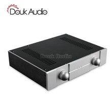 Douk Audio nouveau boîtier amplificateur de châssis en aluminium boîtier de bricolage boîte de maison DAC (W320 * H70 * D248mm)