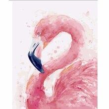 diamond embroidery Flamingo 5d diamond painting full diamond mosaic 3d picture of rhinestones cross-stitch