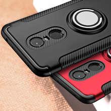 Противоударный чехол с кольцом-кронштейном для Xiaomi Redmi 5 Plus