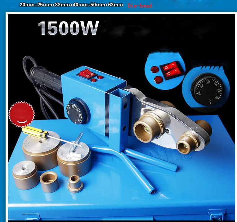 Constant temperature hot melting machine PPR / PE / PB20-63 plastic water pipe hot welding machine Plastic tubes welding machine enlarge