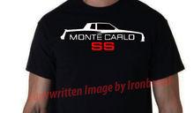 2019 New Fashion Brand Clothing O-Neck Teenage Tees 1983-1984 83-84 Chevy Monte Carlo Ss Car Silhouette Logo Emblem New! T Shirt