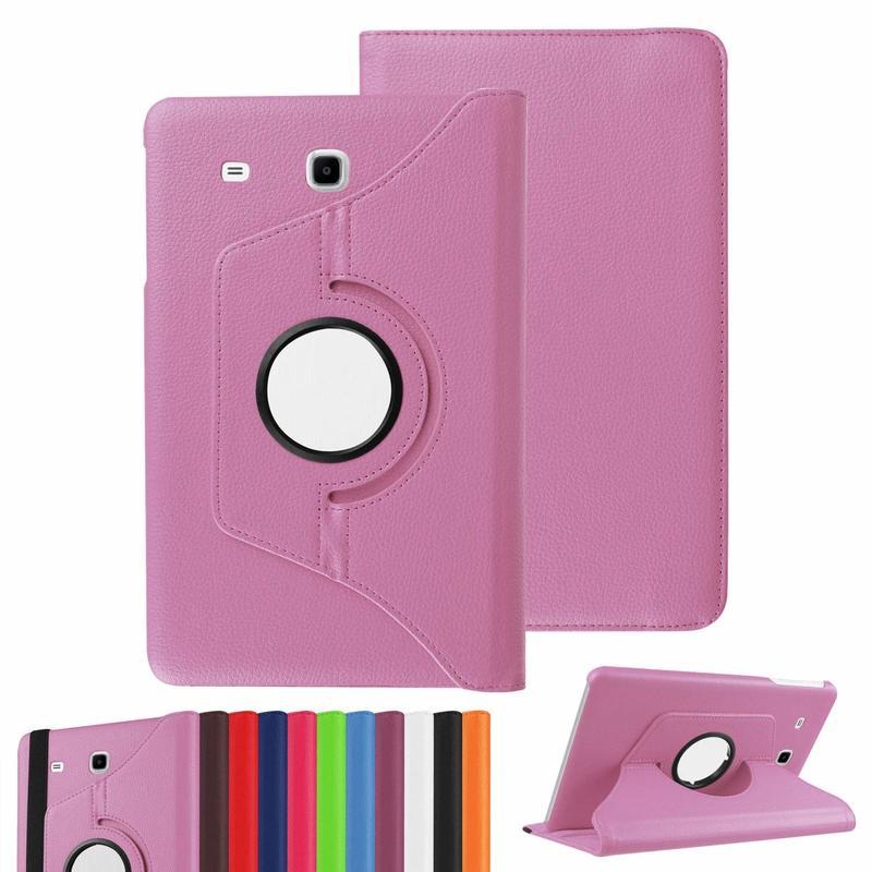 Чехол для Samsung Galaxy Tab E 8,0 SM-T377 чехол 360 градусов вращающийся PU Кожаные чехлы Tab E 8,0 дюймов T375 T378 стекло для планшета