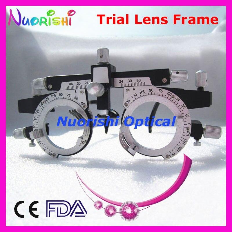 Marco de lente de prueba multifunción de Optometría Óptica Universal profesional XD01 costo de envío más bajo