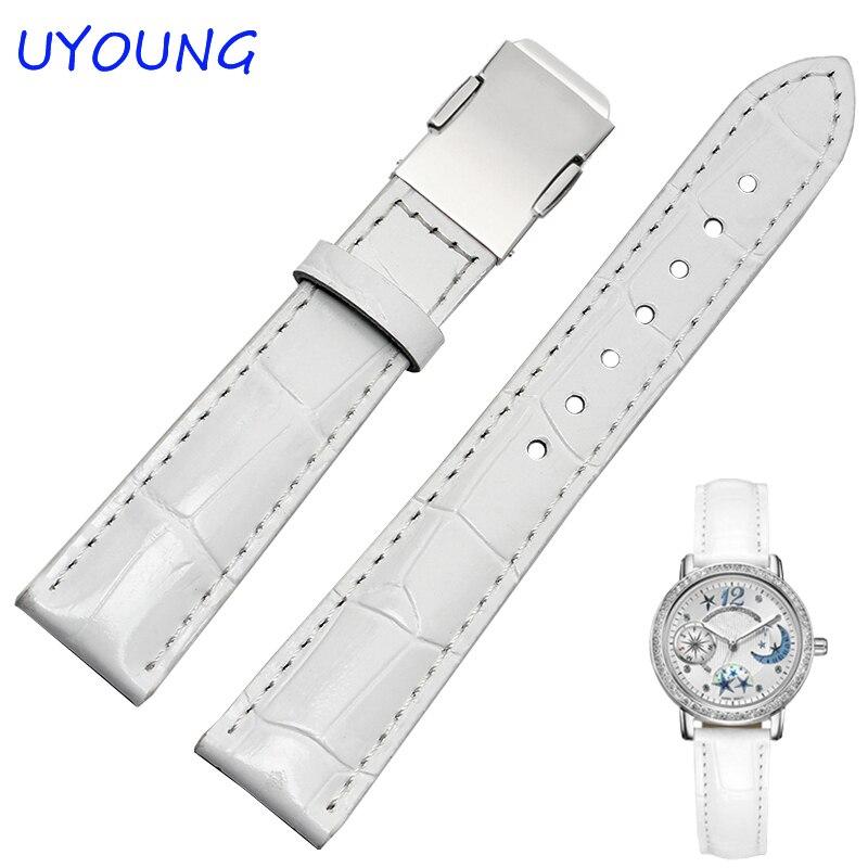 Качественный ремешок для часов из натуральной кожи 14 мм 16 мм 18 мм сменный ремешок для браслета Casio