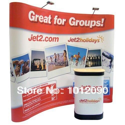Magnética POP up stand banner parede/suporte de pano de Fundo