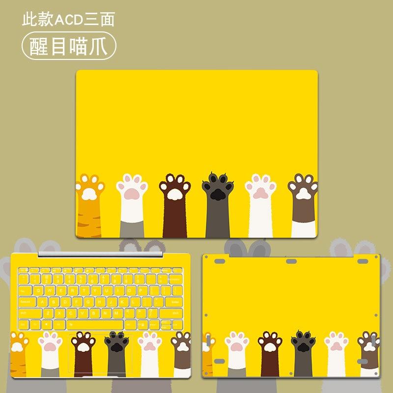 Estilo lindo Laptop piel para Xiaomi mi Notebook Pro 15,6 Air 12 13 pegatina de vinilo para Xiaomi Ga mi ng Notebook 15,6 Funda cubierta