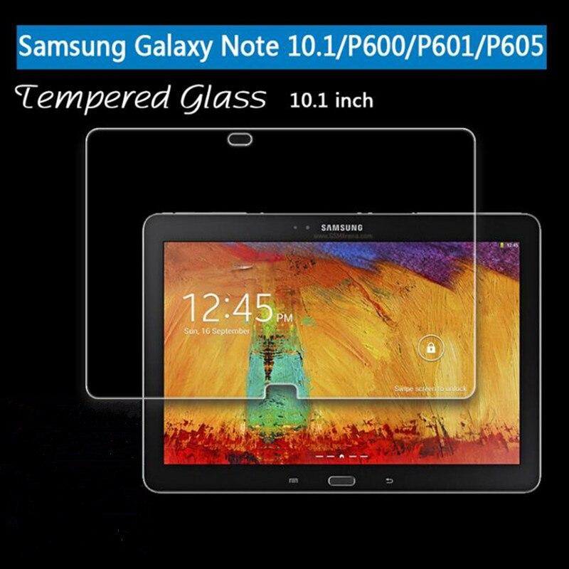 Закаленное стекло для Samsung Galaxy Note 10,1 2014 SM-P601 P601 P600 P605 2012 GT-N8000 N8000 N8010, Защитная пленка для экрана планшета