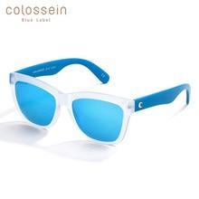 COLOSSEIN Sunglasses Women Square Frame Mirrored Lens Beach Summer Sun glasses Men New Trendy Adult Eyewear UV400 Outdoor очки